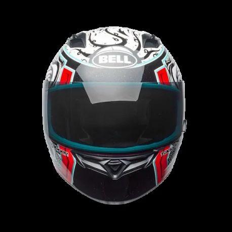 e9380de991f34c Bell Red Qualifier Tagger Splice Helmet