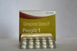 Glimepiride 1 mg