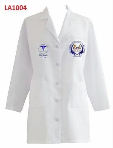 White LIBAN Doctor Coat