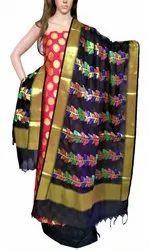 RIAA- Dazzling Party / Wedding Wear Banarasi Salwar Kameez Dress Material Suit