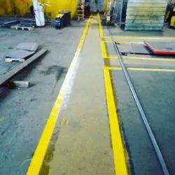 Concrete Edge Line Road Marking Services, For Parking Area, 2 Inch And 4 Inch