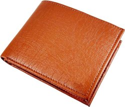 Tan Men's Leather Wallet