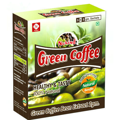 green coffee bean extract sachets