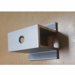 LM Aluminium Solar Panel Mounting U Bracket, for Industrial, Anodized