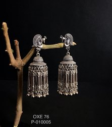Oxidized Earrings OXE 76