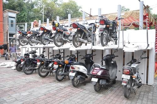 Vehicle Ramp Lifts Multi Parking Lift 1 1 Sets For Bikes