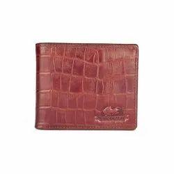 Brown Bi Fold Men's Designer Leather Wallet