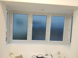 White Residential UPVC open windows, Glass Thickness: 6 Mm