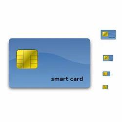 PVC One Sided Biometric Access Smart Card