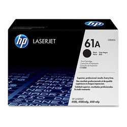 HP 61A Black Original LaserJet Toner Cartridge