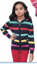Kids Girls Woolen Sweater