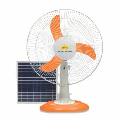 Mitva MF750 Solar Fan(Multi-Colored, with Seperate Solar Panel)