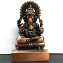 Ganesha Brown Show Piece