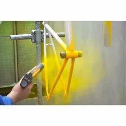 Steel Powder coating job works