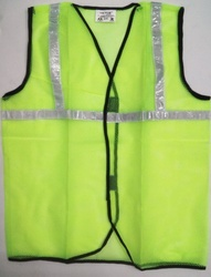 Yellow Reflective Net Jacket