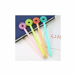 Freakmall蓝色设计师甜甜圈硅胶凝胶笔,包装类型:包