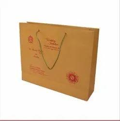 Golden Metalic paper bag