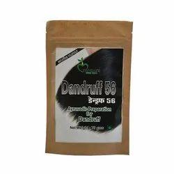 Dandruff 56 hair pack for dandruff, Packaging Size: 75 Gram
