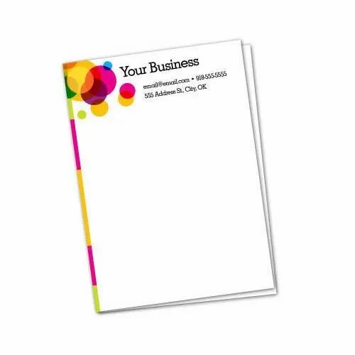 Letter Pad Printing Services
