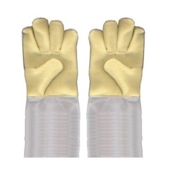 Para Aramid Palm with Pure Chrome Hand Glove