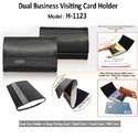 Dual Visiting Card Holder