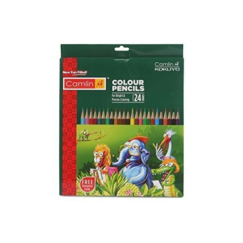 Metallic Non-toxic Drawing Pencils Sketching Finest Wax Crayon Colors Pastel New