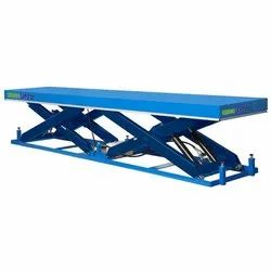 Large size scissor lift table