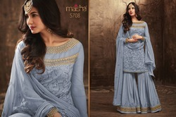 Heavy Net With Embroidery Work Salwar Suit
