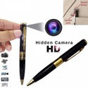 Safety Black Pen Video Camera Security, Cmos