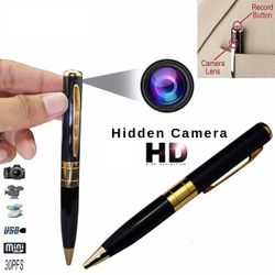 Pen Video Camera Security