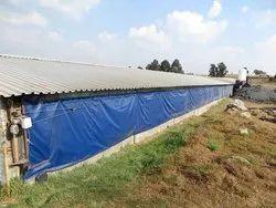HDPE Poultry Curtain Tarpaulin