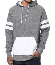 Mens Grey Hoodies