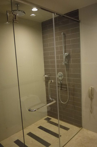 Saint Gobain Toughened Glass Bathroom, Shower Glass Panel Cost India