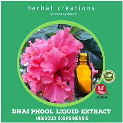 Dhai Phool Liquid Extract (Hibiscus Rosasinensis)