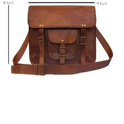 Genuine Leather Messenger Bag MESS105