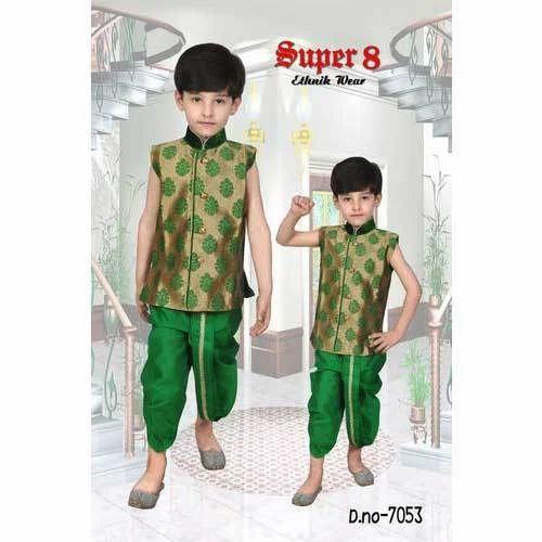 df9fcb13fd14 Fancy Kids Dhoti Kurta at Rs 1000 /set | Kids Dhoti Kurta | ID ...