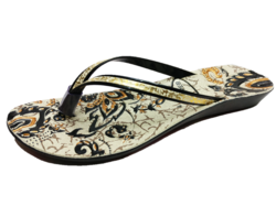 Polymer And PU Ladies Slippers, Size: 4-8