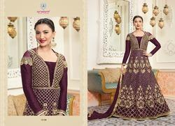 Palkhi Long Anarkali Suit View Specifications Details Of Anarkali Suits By Naina Fashion Surat Id 6858982248