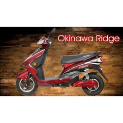 Okinawa Ridge Red Electric Scooty