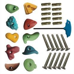 Medium Climbing Holds, Fastener, Bolt, LN Key