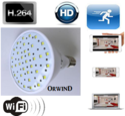 Bulb Spy Camera LED Light