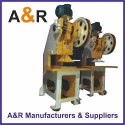 Chappal Making Machine (10 Ton)