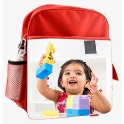 Polyester Printed Kids School Bag