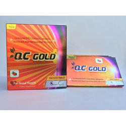 Cause & Cure QC Gold Chewable Tablets, Packaging Type: Box