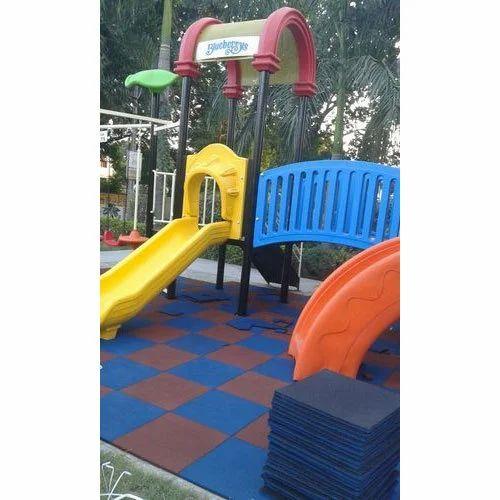 Kids Playground Plastic Slide, Rs 35000 /piece, Kadam ...