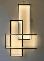 Pulsating Rectangular Aluminium Decorative Lights for Home