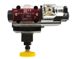 Mild Steel BSG-06-2B3B-A120-N1-4680 Yuken Pressure Control Valve, For Water
