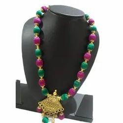 Festive Wear Silk Thread Necklace