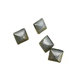 Square Metal Buttons