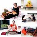 Kawachi Foldable Adjustable Multipurpose Laptop Bed Study Table